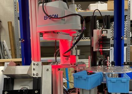 Robotic Counting Vision Inspection